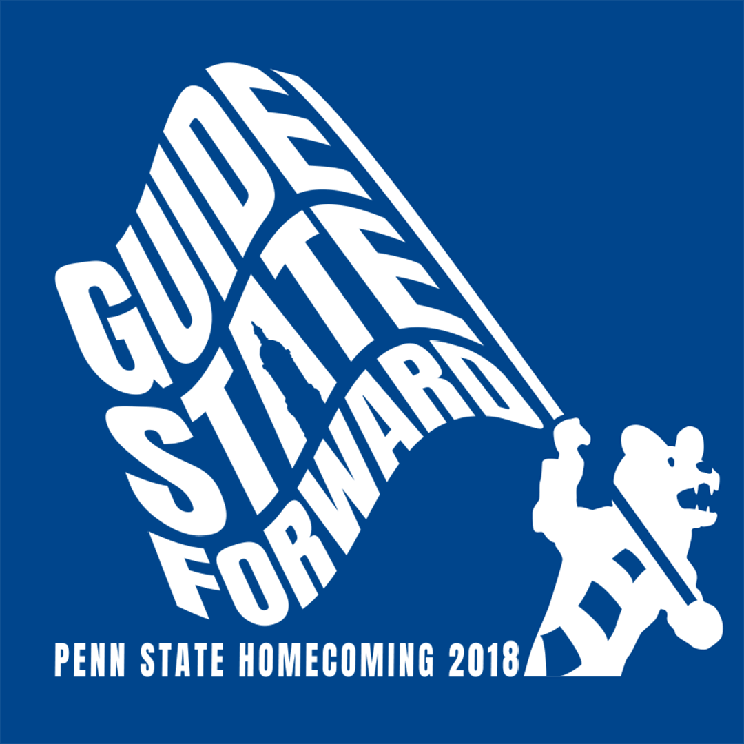 Homecoming Theme 2018: Guide State Forward