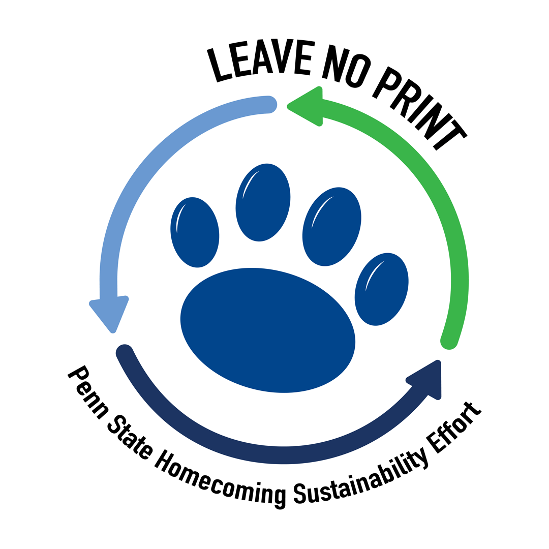 Penn State Homecoming Sustainability Effort