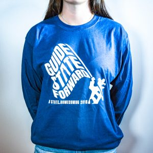 Guide State Forward Long Sleeve Blue